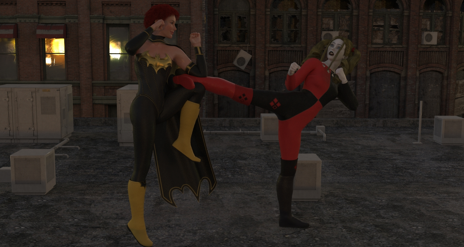 Bat vs Harley.jpg