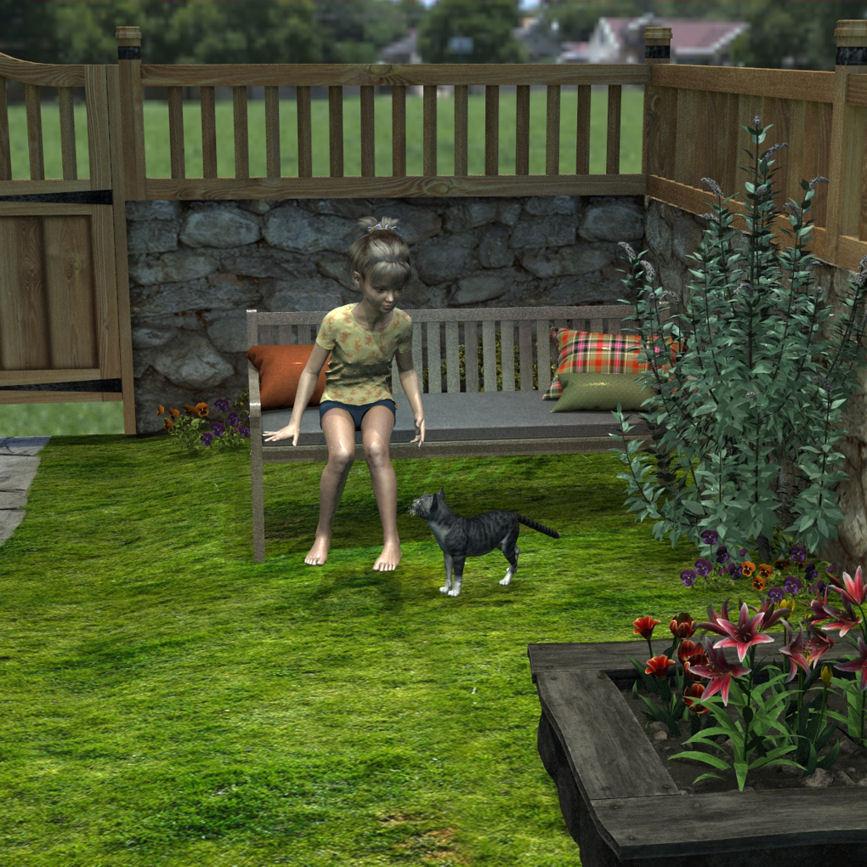FinalCatand Girl in garden.jpg