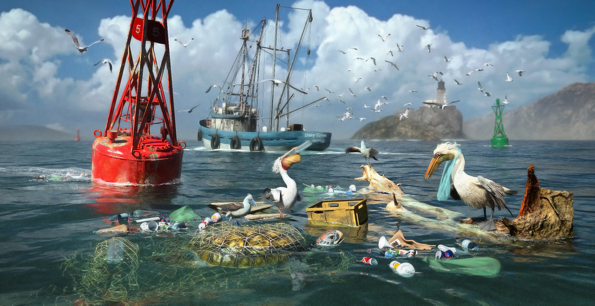 HM 03 Surviving the Garbage Tide by DigitalArt4U.jpg