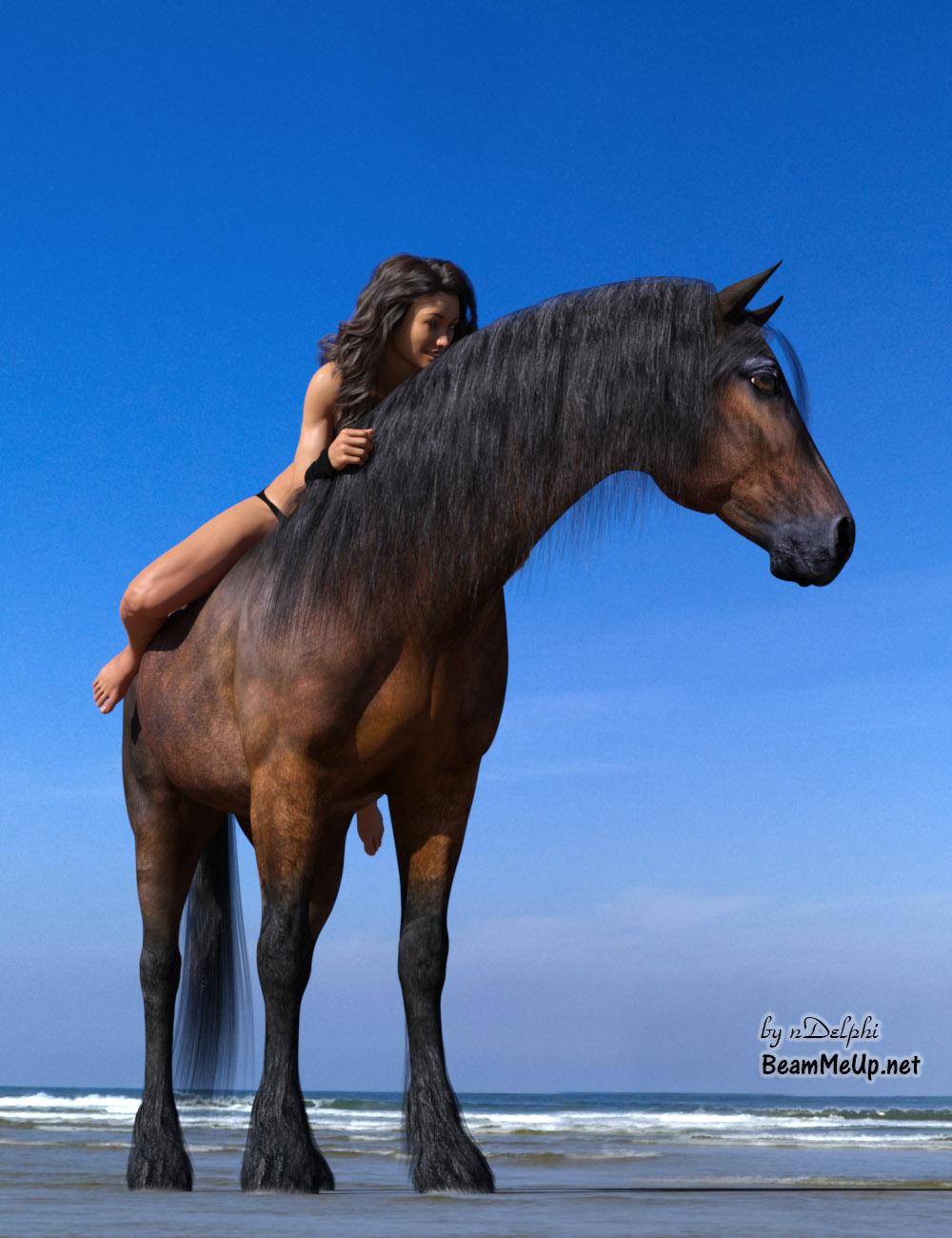 Karen 7 - Wet (Sweat) - HiveWire 3D Horse - Sig.jpg