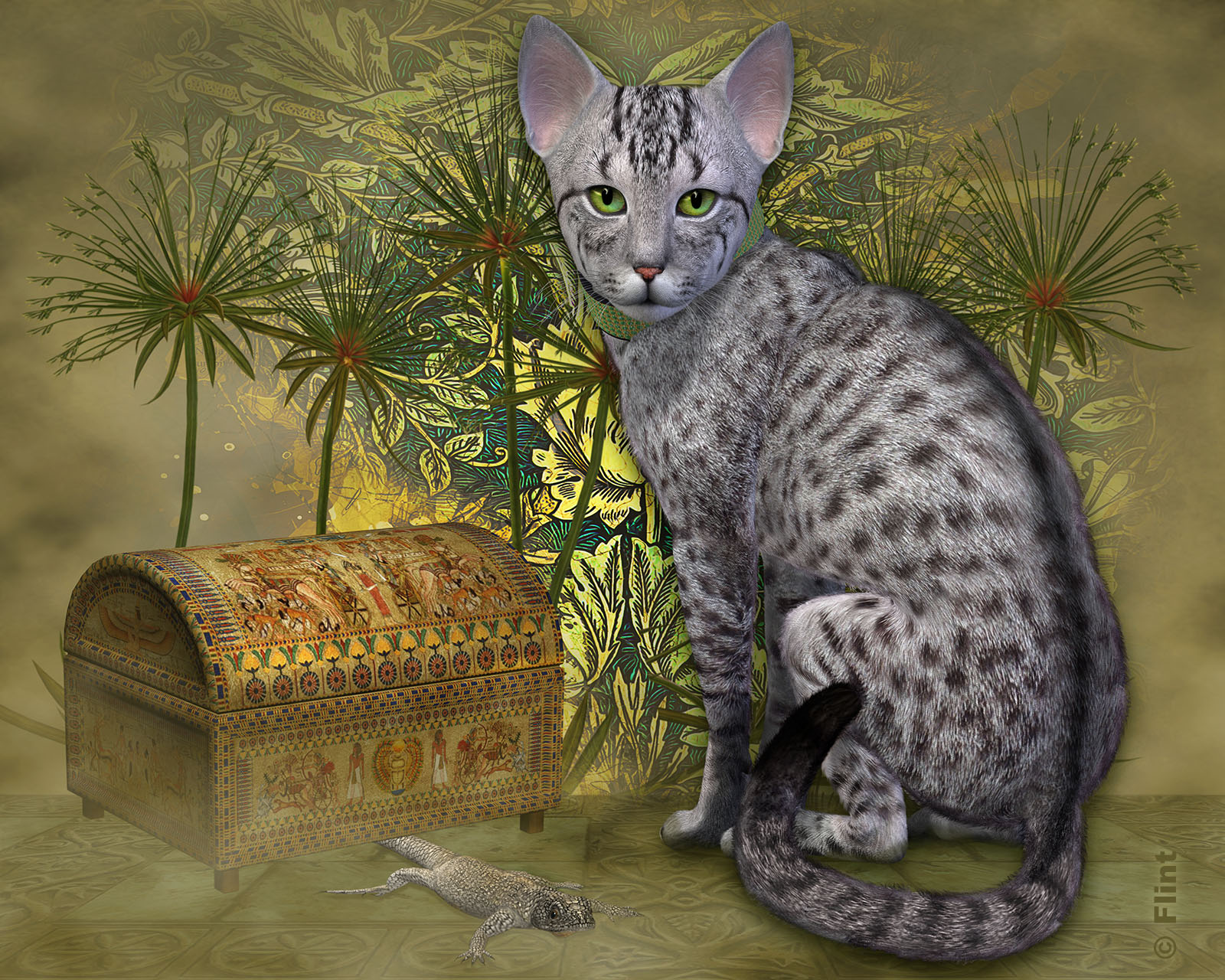 The Treasured Egyptian Mau.jpg