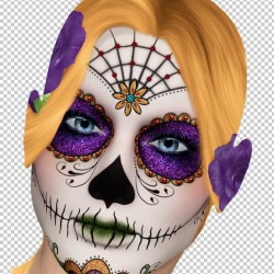 Day Of The Dead By Jeanne Harmon