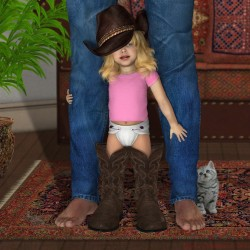 Daddy Boots By Lyne