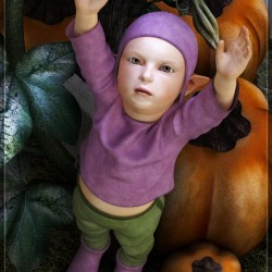 Pumpkin Patch Baby By Satira Capriccio
