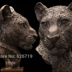 Leopard Sculpture Ref 01