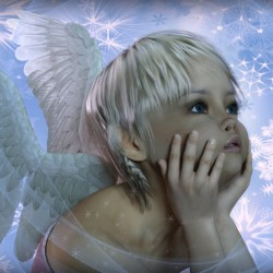 Baby Angel By Luannemarie