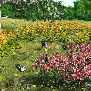 Spring Flowers by Fae3D