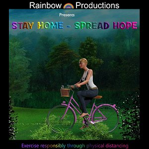 Stay Home - Spread Hope by tantographics
