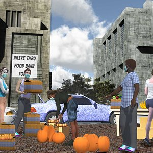 People Helping People by cinadisilver