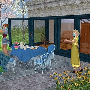 Visit to Granny by Rieke