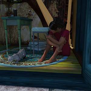 Taking a Break by Rhia474