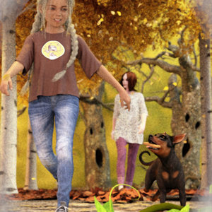 Taking An Autumn Walk by Phoenix