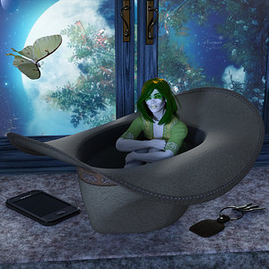 Honorable Mention - I Want To Hide Here To Be Near Him by mininessie