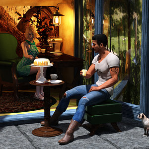 Seventh Place - Keeping Distance by Rae134