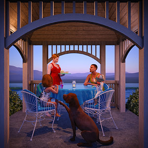 Sixth Place - Family Time by azoohouse