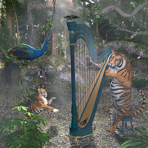Concert in the jungle