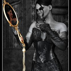 Honorable Mention - Truth In The Reflection by Varnayrah