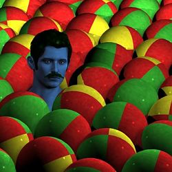Bidido Among The Beach Balls By Jack Ryan