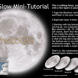 Moon GLow Mini-Tutorial By PhotoGG