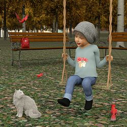 Autumn Swinging