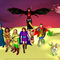 Dungeons and Dragons from the tv series
