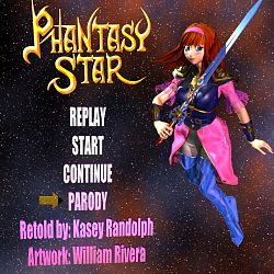 Phantasy Star Parody