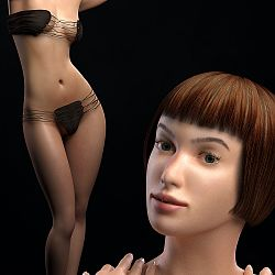 Neutral Skin MR for La Femme by TwiztedMetal