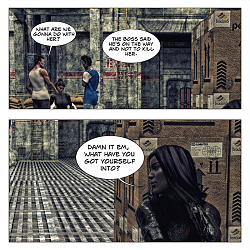 Assassins Universe Comic - The Warehouse Part 2