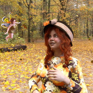 Meeting the autumn fairy