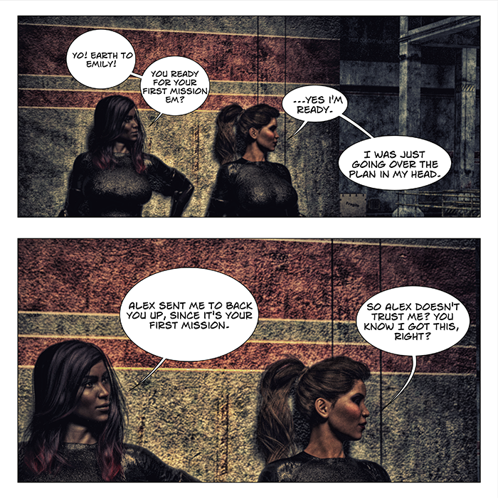 Assassins Universe Comic - The Warehouse