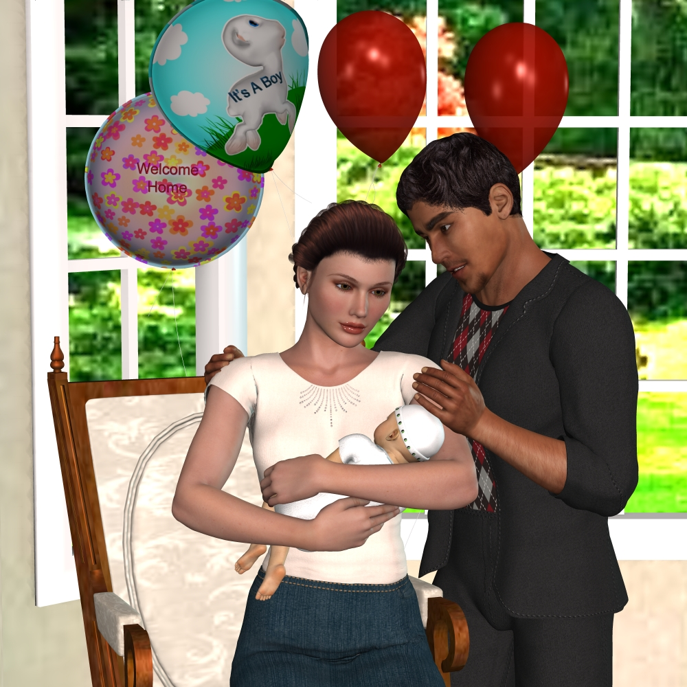 Most Loving Family - New Beginnings by Glitterati3D