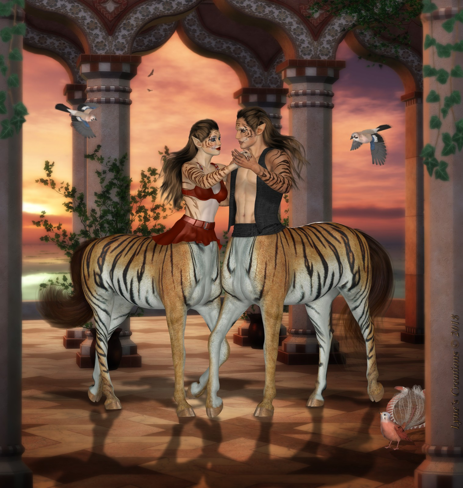 Tango of the Tiger-Taurs